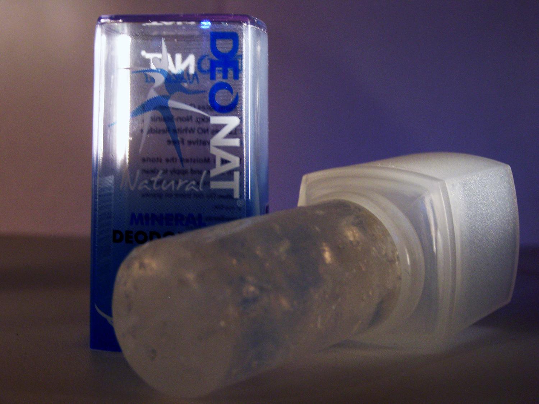 Дезодорант с солью